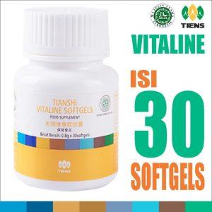 Harga Produk Pemutih Vitaline Softgels Tiens Asli