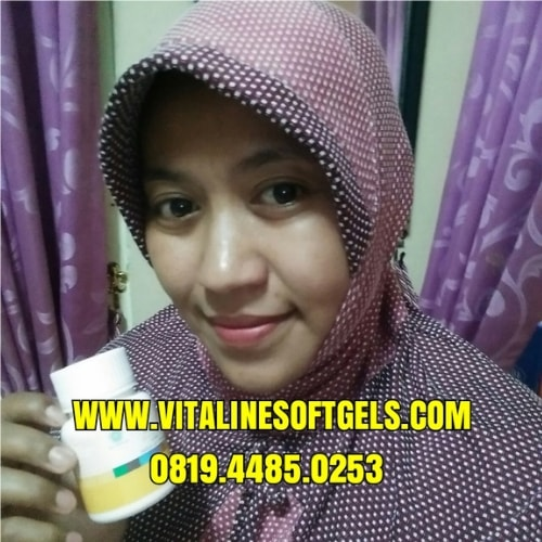 Isi 1 Botol Vitaline Softgels Tiens 30 Kapsul