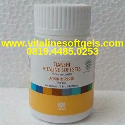Kandungan Dalam Sebotol Vitaline Tiens