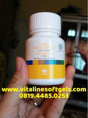 Kandungan Nutrisi Vitaline Softgels Tiens