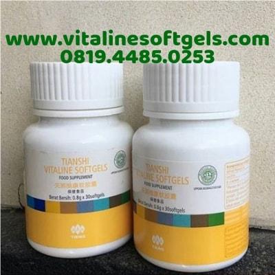 Kandungan Vitaline Softgels Capsules Tiens