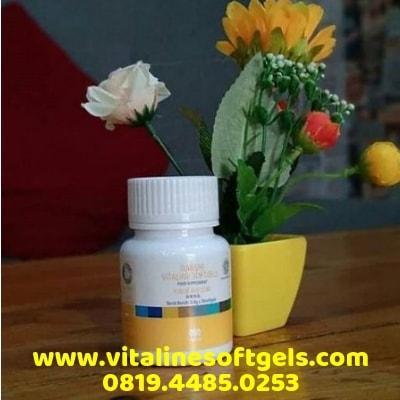 Kandungan Vitaline Softgels Tiens
