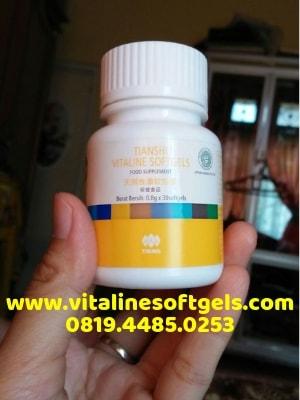 Komposisi Kandungan Produk Vitaline Softgels Tiens