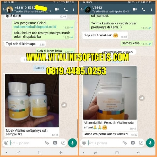 Manfaat Dalam Vitaline Softgel Tiens