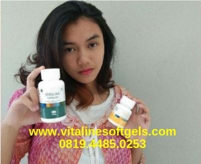 Manfaat Vitaline Softgels dan Spirulina Tiens