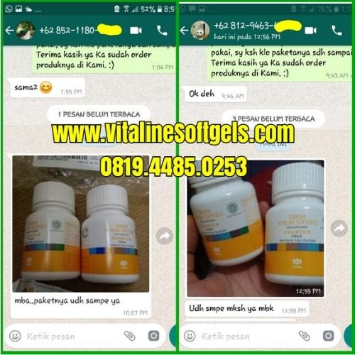 Manfaat dalam Vitaline Softgels Tiens