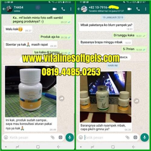 Mengkonsumsi Vitaline Softgels dan Spirulina Tiens