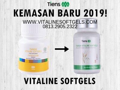 obat vitaline softgels tiens