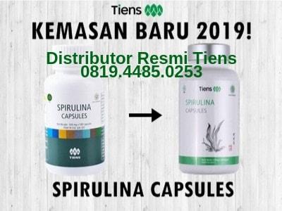 Spirulina Capsules Tiens