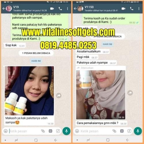 Testimoni Produk Vitaline Softgels Tiens