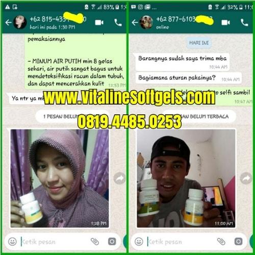 Testimoni pengguna Vitaline Softgels Tiens