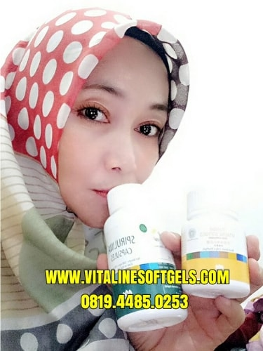 kegunaan vitaline dan spirulina capsules tiens