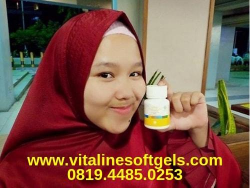 review hasil pemakaian vitaline softgels tiens