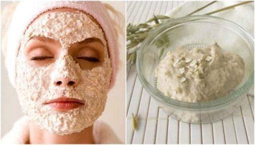 Masker Yang Terbuat Dari Susu Dan Oatmeal