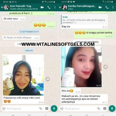Review Vitaline SoftgelsTiens Pemutih Badan