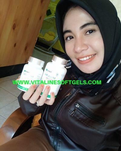 Vitaline Softgels dan Spirulina Tiens
