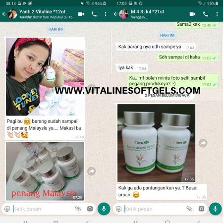 manfaat keunggulan dari produk Vitaline Softgels Tiens