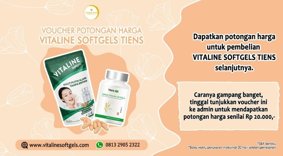 voucher vitaline softgels tiens